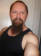 Jeff with long goatee in 2009